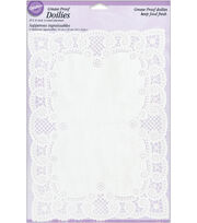 Wilton 10''x14'' Grease-Proof Doilies-Rectangle, , hi-res