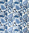Home Decor 8\u0022x8\u0022 Fabric Swatch-Upholstery Fabric Eaton Square Gina Sapphire