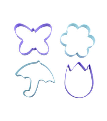 Easter Butterfly, Umbrella, Flower & Tulip Cookie Cutters