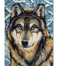 Junior Paint By Number Kits 9\u0022X12\u0022-Wolf 2