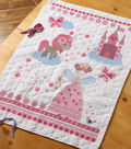 Fairytale Princess Crib Cover Stamped Cross Stitch Kit