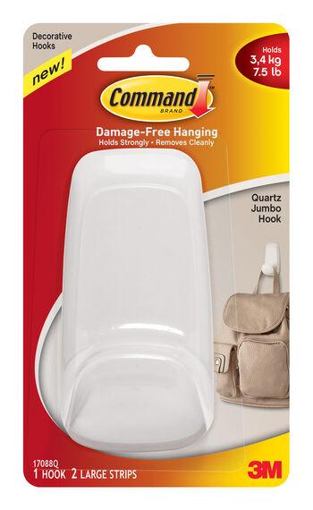 Command Quartz Jumbo Hook