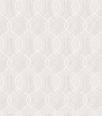 "Eaton Square Print Fabric 54""-Distributors/White"
