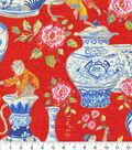 Dena Upholstery 8x8 Fabric Swatch-Monkey Jars/Fiesta