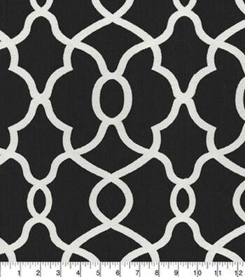 "Kelly Ripa Home Multi-Purpose Decor Fabric 57""-Clearly Cool Ebony"