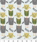 Nursery Flannel Fabric 42\u0022-Uptown Owl Print