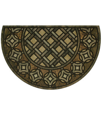 Mohawk Homes Patina Tiles Estate Welcome Doormat-Slice