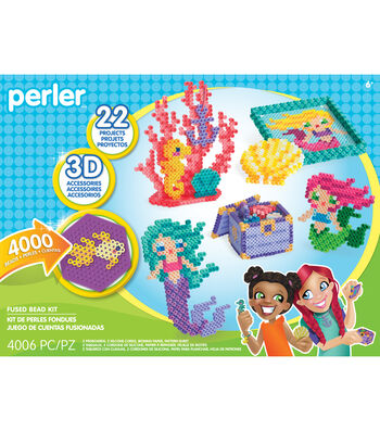 Perler Magical World of Mermaids Deluxe Kit