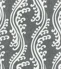 Waverly Multi-Purpose Decor Fabric 56\u0022-Turning Tides/Noir