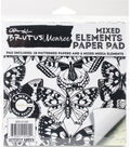 Brutus Monroe Mixed Elements Paper Pad-Butterfly Garden