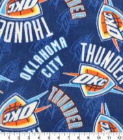 Oklahoma City Thunder Fleece Fabric-Logo, , hi-res
