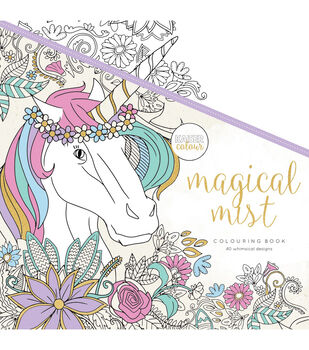 "KaiserColour Perfect Bound Coloring Book 9.75""X9.75""-Magical Mist"