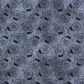 Halloween Cotton Fabric-Tarot Magic Ball Gray
