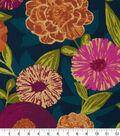 Robert Allen @ Home Print Swatch 55\u0022-Luna Flora Berry Crush