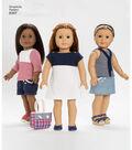Simplicity Pattern 8397 18\u0027\u0027 Doll Clothes