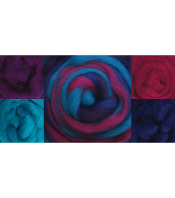 Wistyria Editions Wool Roving Jester