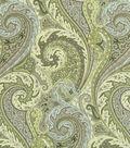 Home Decor 8\u0022x8\u0022 Fabric Swatch-Williamsburg Jaipur Paisley Shade