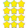 Yellow Stars Mini Accents 36/pk, Set Of 12 Packs