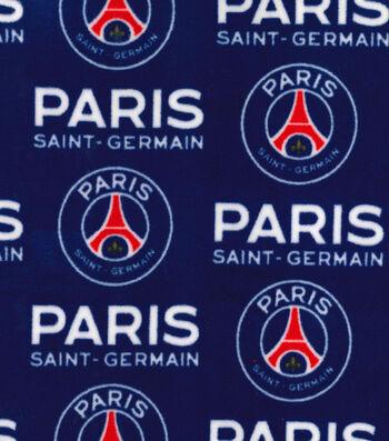 Paris Saint-Germain Football Club Fleece Fabric 58''