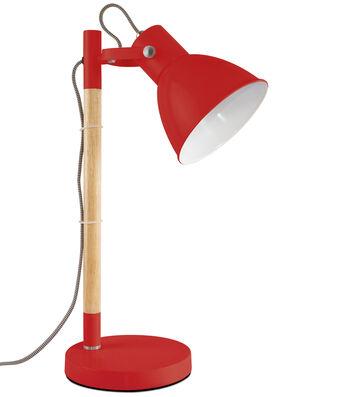 OttLite Lighting Avery LED Table Lamp-Red