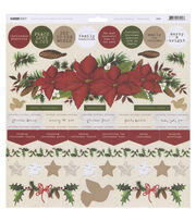 Kaisercraft Home For Christmas Cardstock Stickers, , hi-res