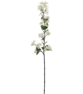 "Bloom Room 42"" Apple Blossom Spray-White"