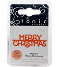 Tonic Studios Mini Moments 2\u0027\u0027x0.7\u0027\u0027 Craft Die-Modern Merry Christmas