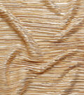 Casa Embellish Pleated High Shine Fabric 56\u0027\u0027-Rose Gold
