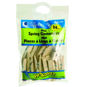 Loew-Cornell Mini Spring Clothespins, , hi-res