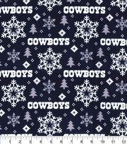 Dallas Cowboys Christmas Flannel Fabric-Holiday, , hi-res