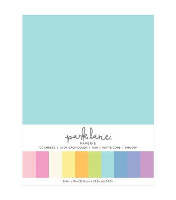 Park Lane 100 pk 8.5''x11'' Value Papers-Pastels