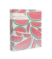 American Crafts Memory Planner Binder-Watermelon, , hi-res