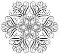IndigoBlu Cling Mounted Stamp Large Snowflake