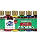 Americana Acrylics Value Pack 6/Pkg-Christmas