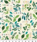 Novelty Cotton Fabric-Aromatic Herbs