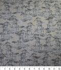 Premium Quilt Cotton Fabric-Gray Bamboo