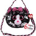 Ty Inc. Reversible Sequin Kiki Cat Purse