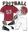 Jolee\u0027s Boutique Themed Ornate Stickers-Football