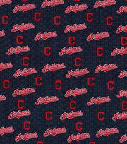Cleveland Indians Cotton Fabric -Mini Print, , hi-res