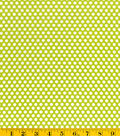 Made in America Cotton Fabric-Green Dot