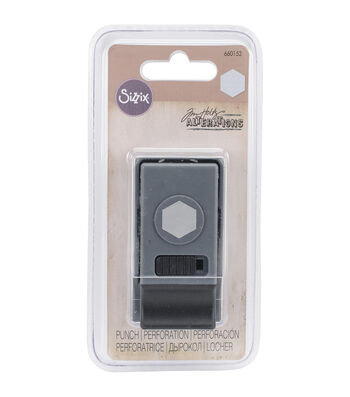 Sizzix Tim Holtz Small Paper Punch-Hexagon