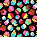 Celebration Cotton Fabric-Celebration Cupcakes