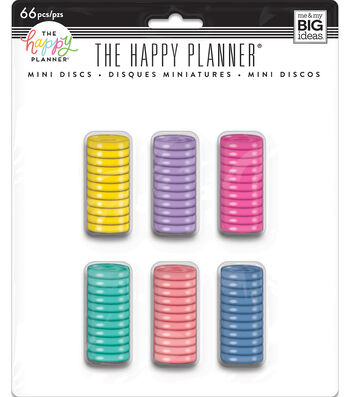The Happy Planner Value Pack Mini Discs