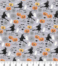 Halloween Cotton Fabric 43\u0022-Boo! Witches