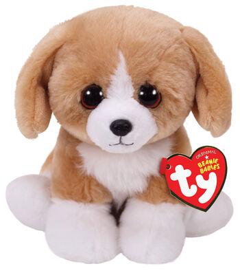 Ty Beanie Babies Regular Franklin Dog-Brown