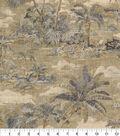 Home Decor 8\u0022x8\u0022 Fabric Swatch-Tommy Bahama Scenic Beauty Nutmeg