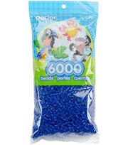 Perler Beads 6,000/Pkg-Dark Blue, , hi-res