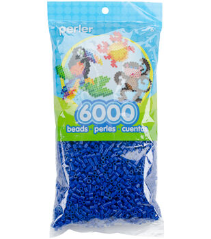 Perler Beads 6,000/Pkg-Dark Blue