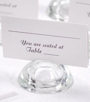 Darice 50ct Square Table Seating Cards