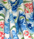 Waverly Upholstery Fabric 54\u0022-Spring Forth Bluebell